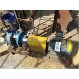 Goulds 2X3-10 Centrifugal Pump, M# 3196, W/ 5 HP Electric Motor | Rig Fee: $200