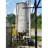 Chiller Feed Water Skid, W/ Pumps & Tank | Rig Fee: $850