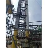 Lot of (2) Distilation Column, (Ref. D1/D2 Column) | Rig Fee: Contact Rigger