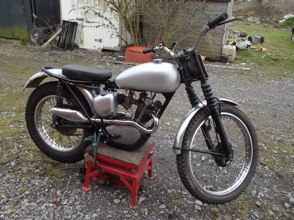 Lot 28   A 1961 Triumph Tiger Cub T20 Trials, Registration Number RCA 243B,