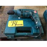 Makita HR1501 1/2'' Steel, 9/16'' Concrete Hammer Drill,
