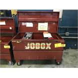 Jo box 654990R4 45'' x 21'' x 22'' Heavy-Duty Portable Tool Box