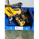 Lot Dewalt & Misc Corded & Battery Powered Hand Tools