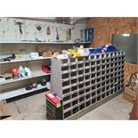 Lot Galvanized Pipe Fittings, Electrical Hardware, Paint and Misc Tools
