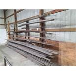 Heavy Duty Bar Material Storage Rack w/ Contents