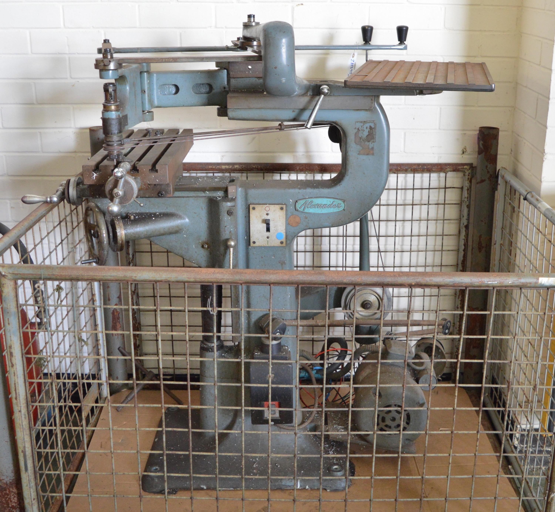 Alexander Engraving Machine Model 2B