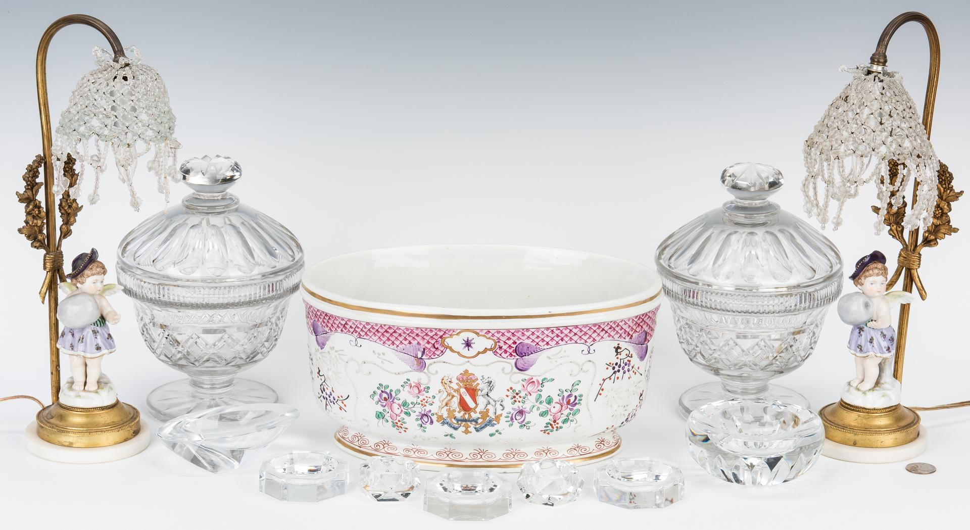 Group 5 Decorative Table Items & Baccarat Crystal - Image 2 of 25