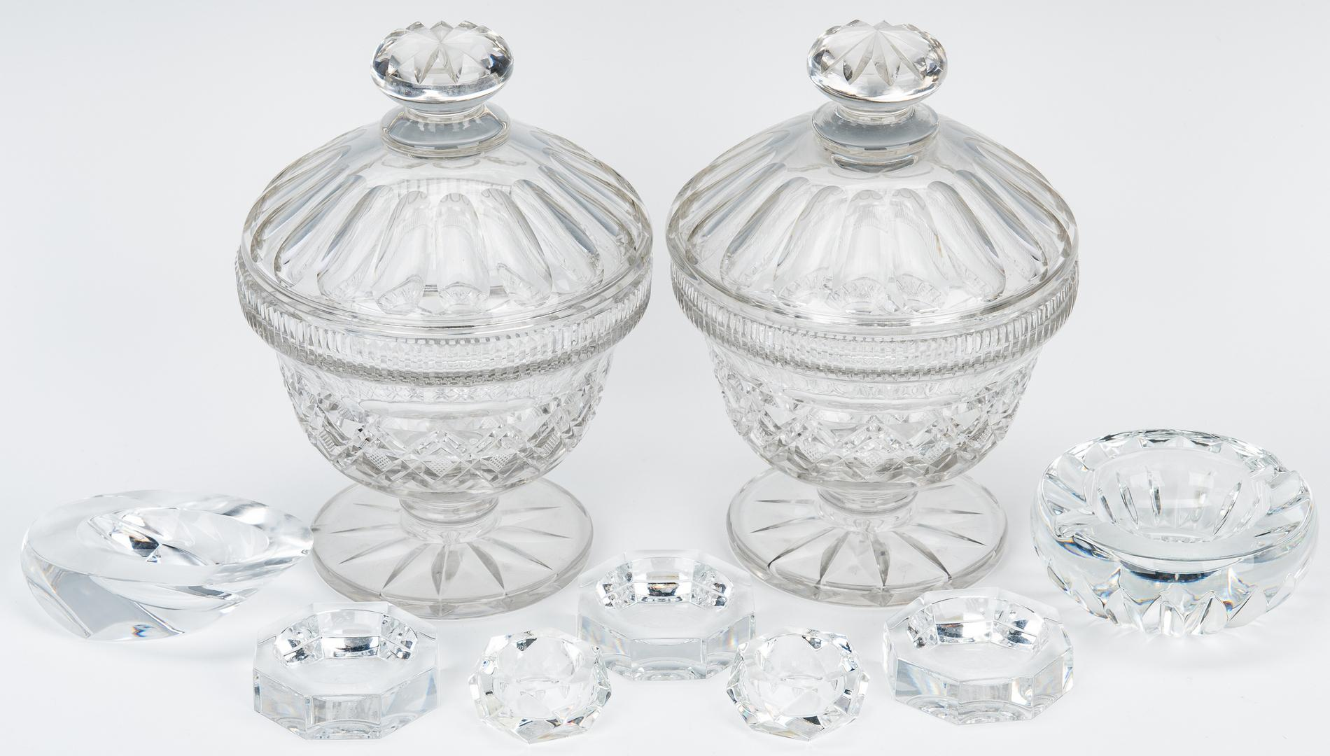 Group 5 Decorative Table Items & Baccarat Crystal - Image 3 of 25