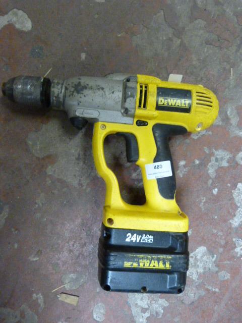 Lot 480 - Dewalt Drill
