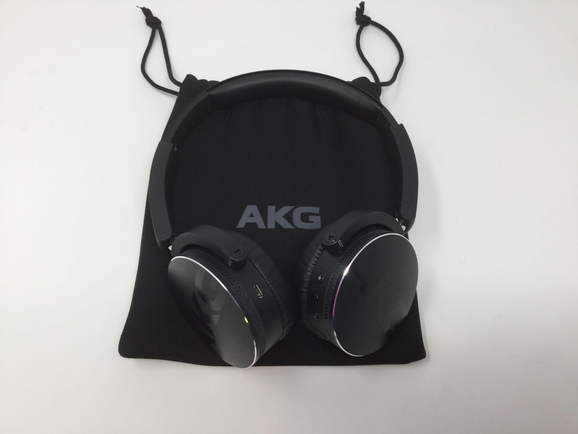 Lot 10 - AKG Wireless Bluetooth Headphones