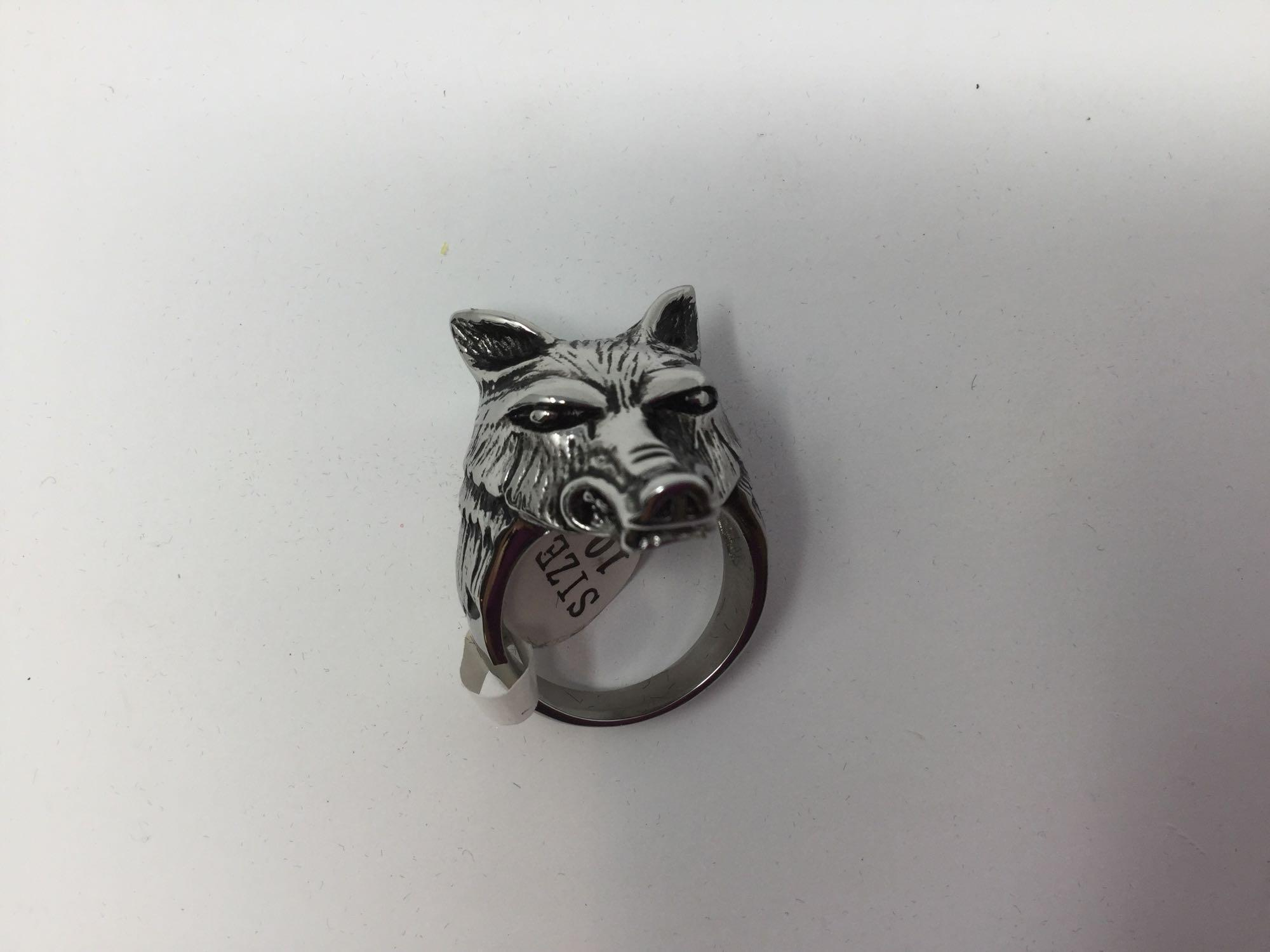 Lot 27 - Stainless Steel Men's Ring - Retail $60