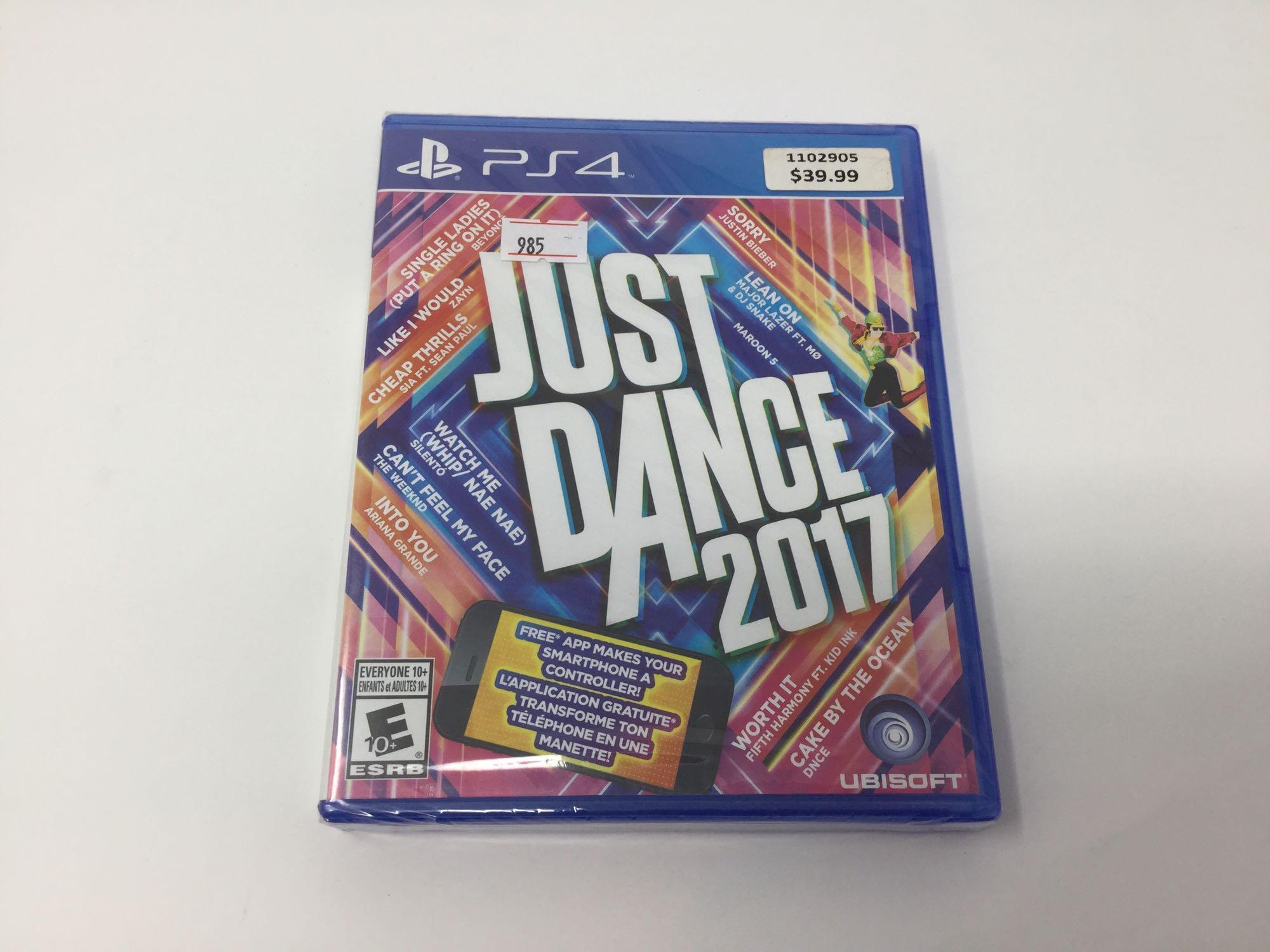Lot 6 - PS4 Just Dance 2017
