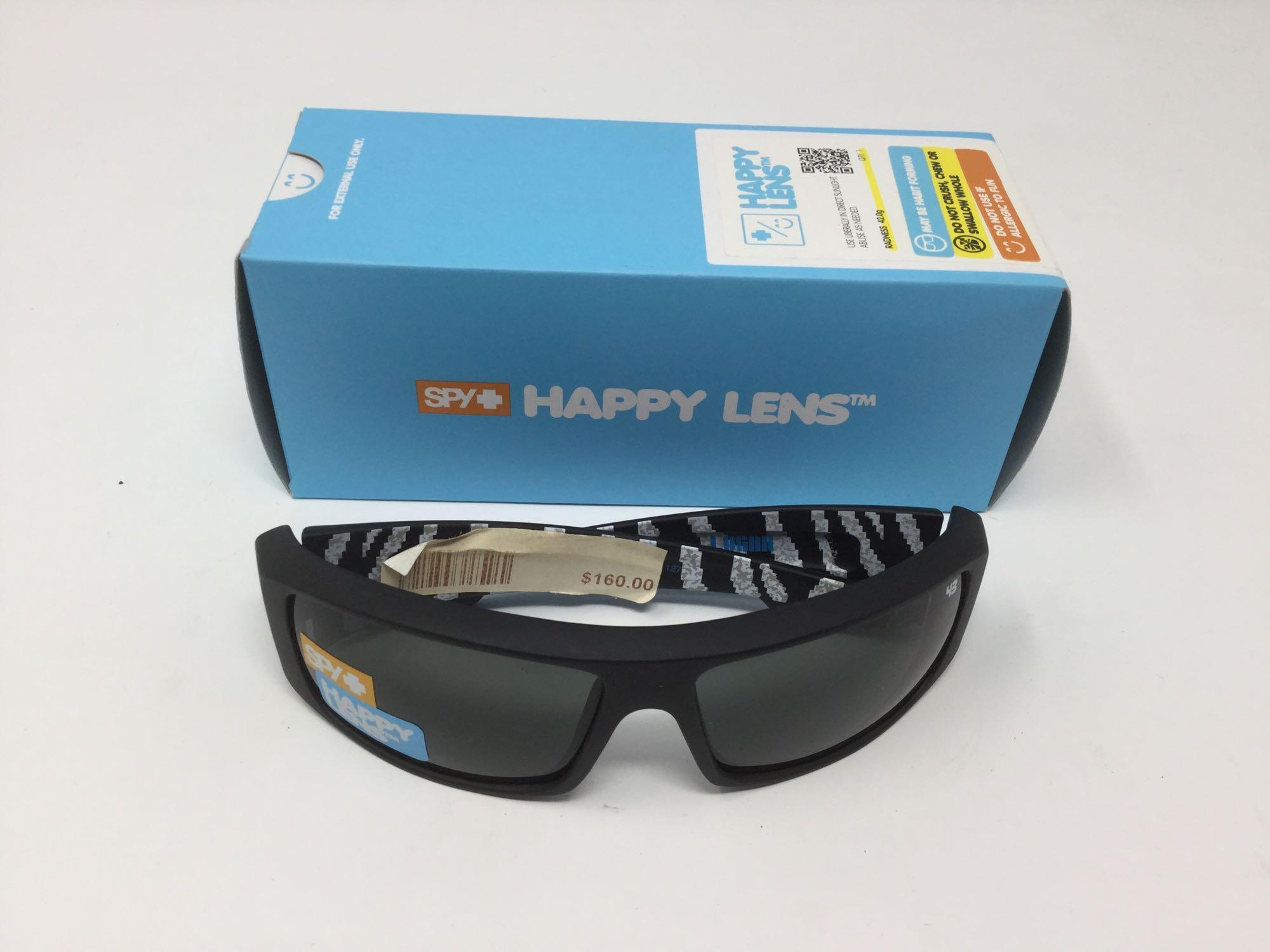 Lot 1 - Spy Happy Lens Sunglasses - Retail $160.00