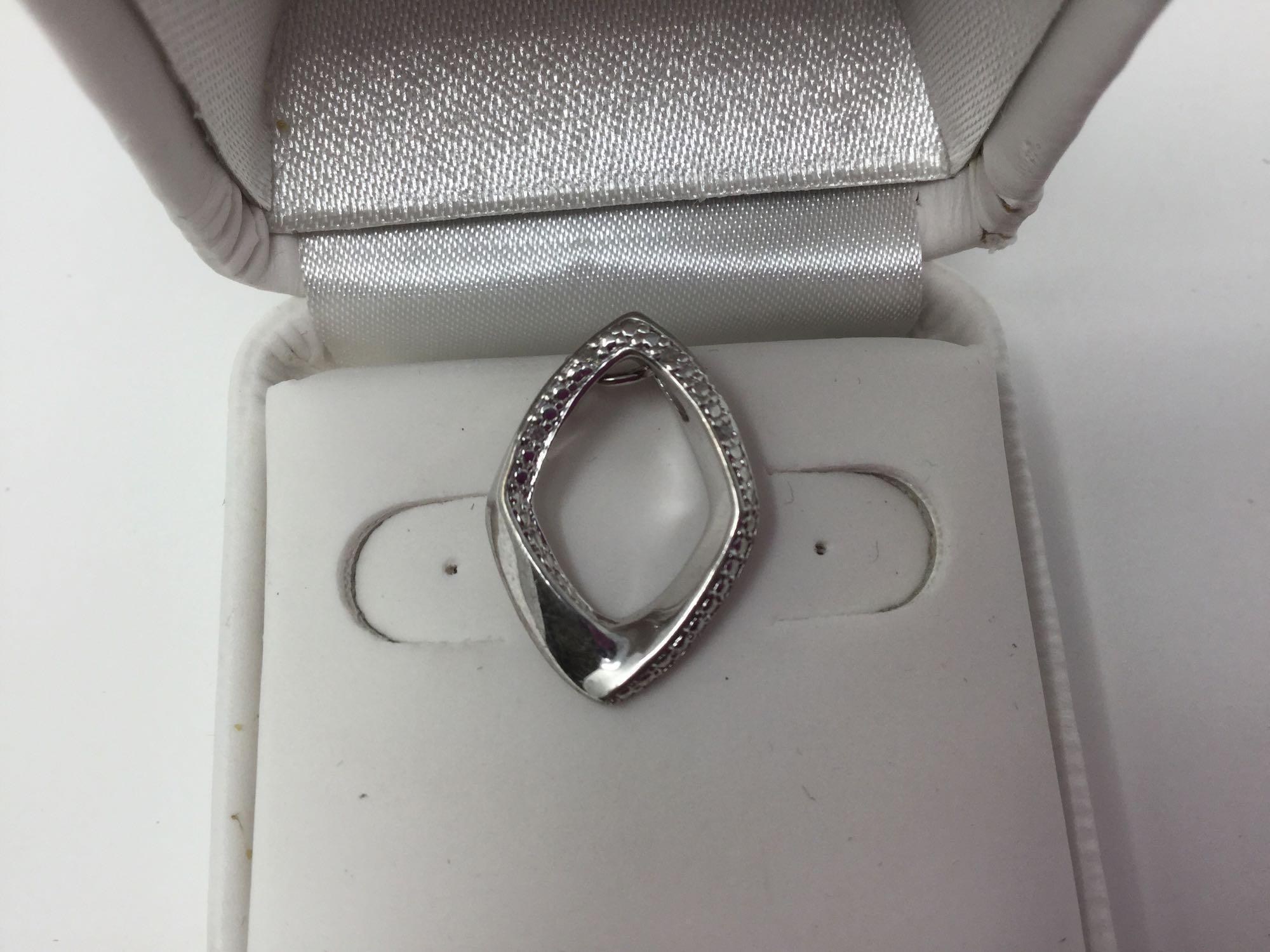 Lot 12 - Sterling Silver Pendant - Retail $80