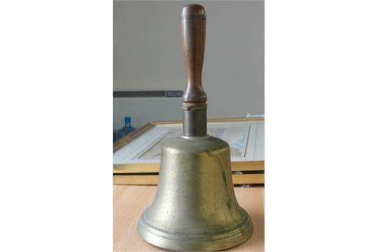 A 1950s Large Brass School Bell