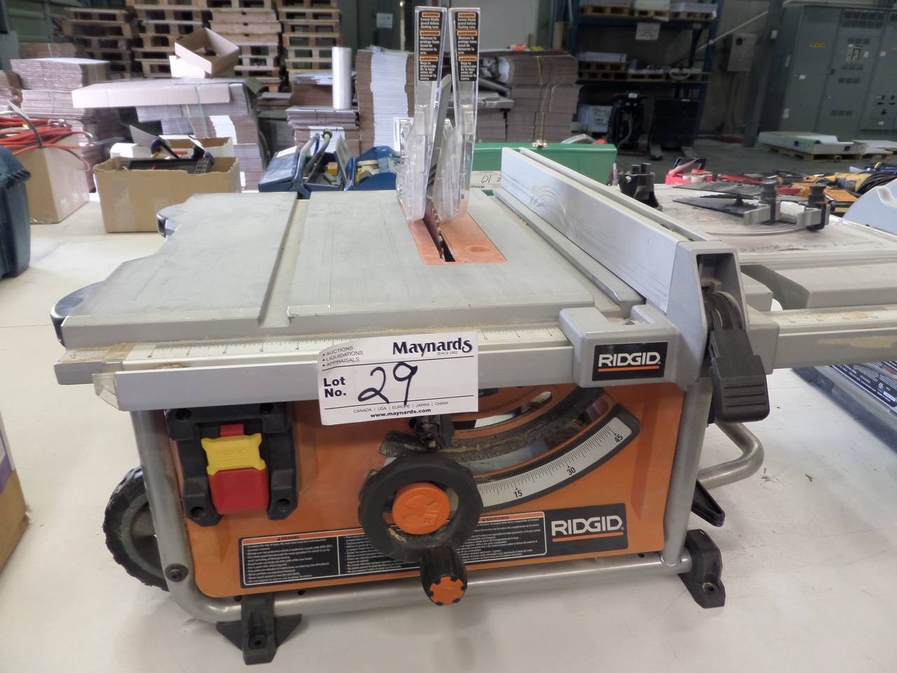 Ridgid r4516 10 portable table saw for 10 portable table saw