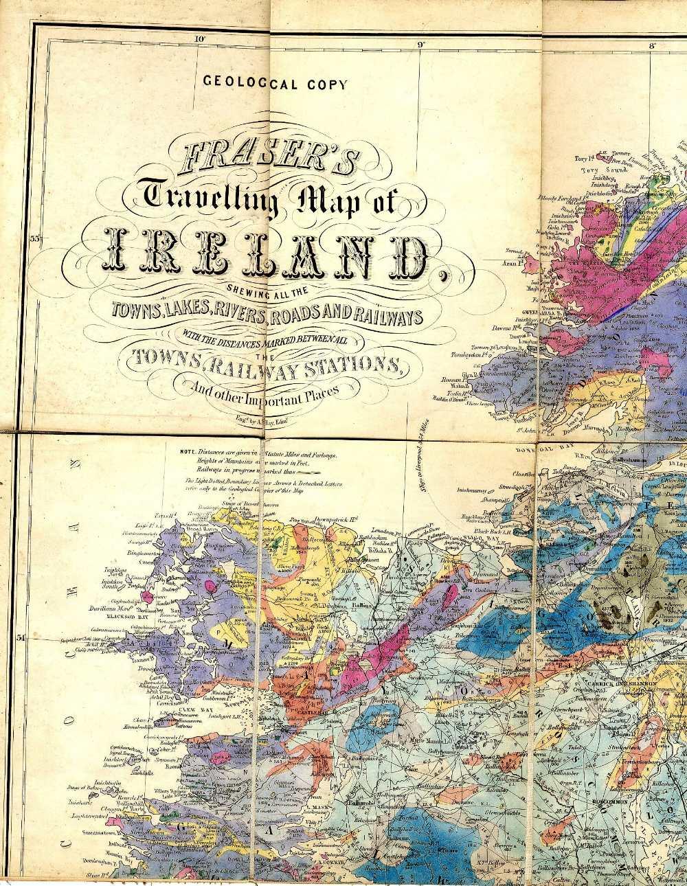 Lot 41 - Irish Maps: Allan (M.H. & J.W.