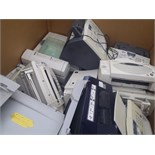 Pallet of Printers & Fax Machines - Used Condition - Untested - (10992)