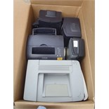 Box of Printers - Used Condition - Untested
