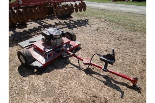 Lot 664 Swisher Pull Behind Mower 44