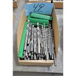 Lot-Straight Shank Drills in (1) Box