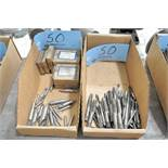 Lot-Center Drills and Taps in (2) Boxes
