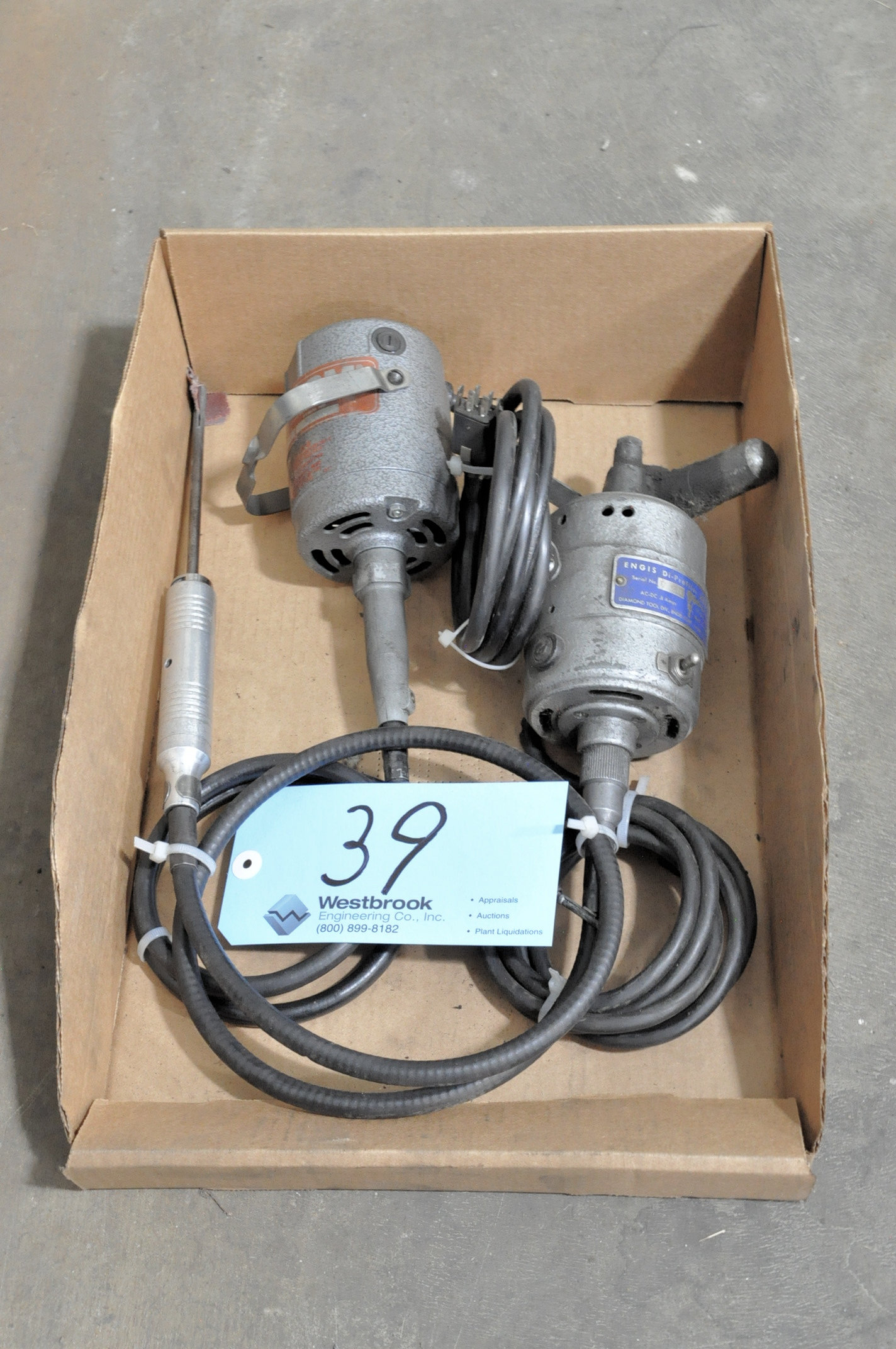 FOREDOM Shaft Motor with ENGIS Di-Profiler in (1) Box