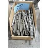 Lot-Taper Shank Drills in (1) Box