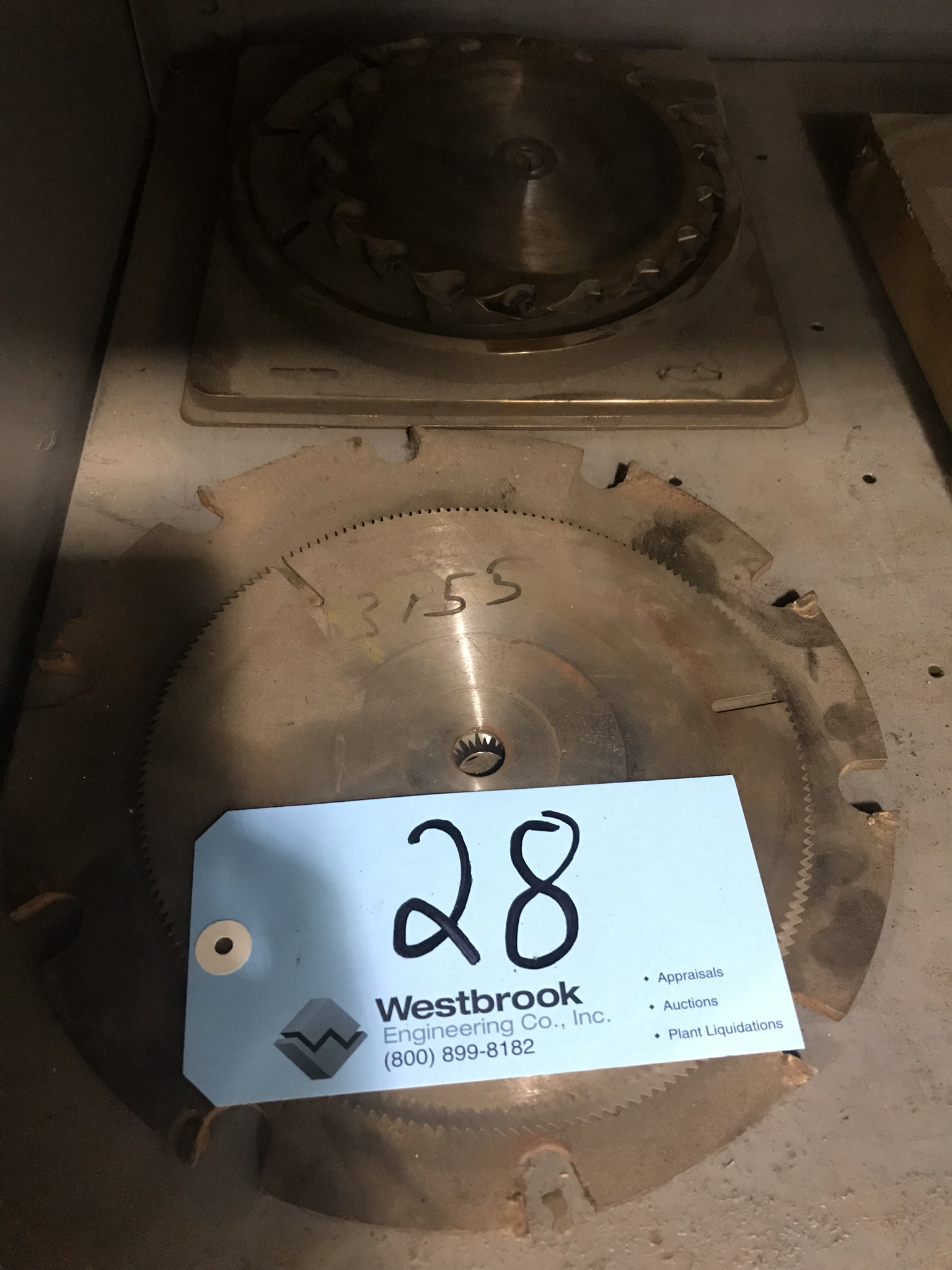 Lot-Asst'd Saw Blades in (2) Stacks