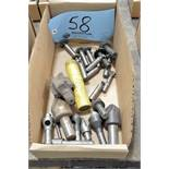 Lot-Key Cutters and Countersinks and DeBurrs in (1) Box