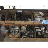 Lot-Assorted Hardware in (11) Boxes and (2) Bin Cabinets Under