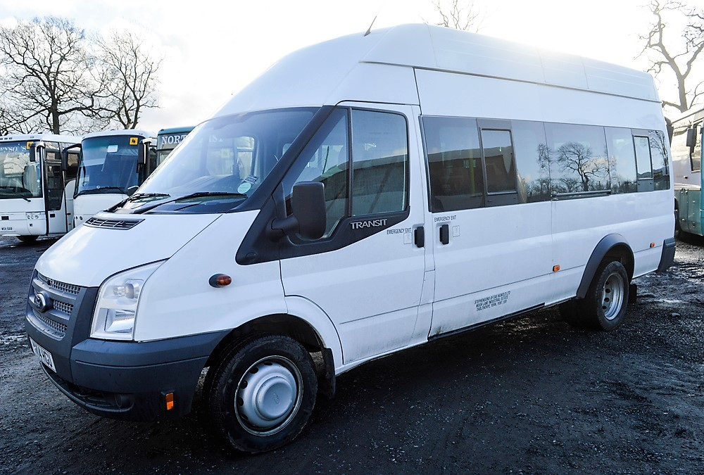 Lot 32 - Ford Transit 135 T430 RWD 16 seat minibus Registration Number: YK14 HGU Date of Registration: 22/04