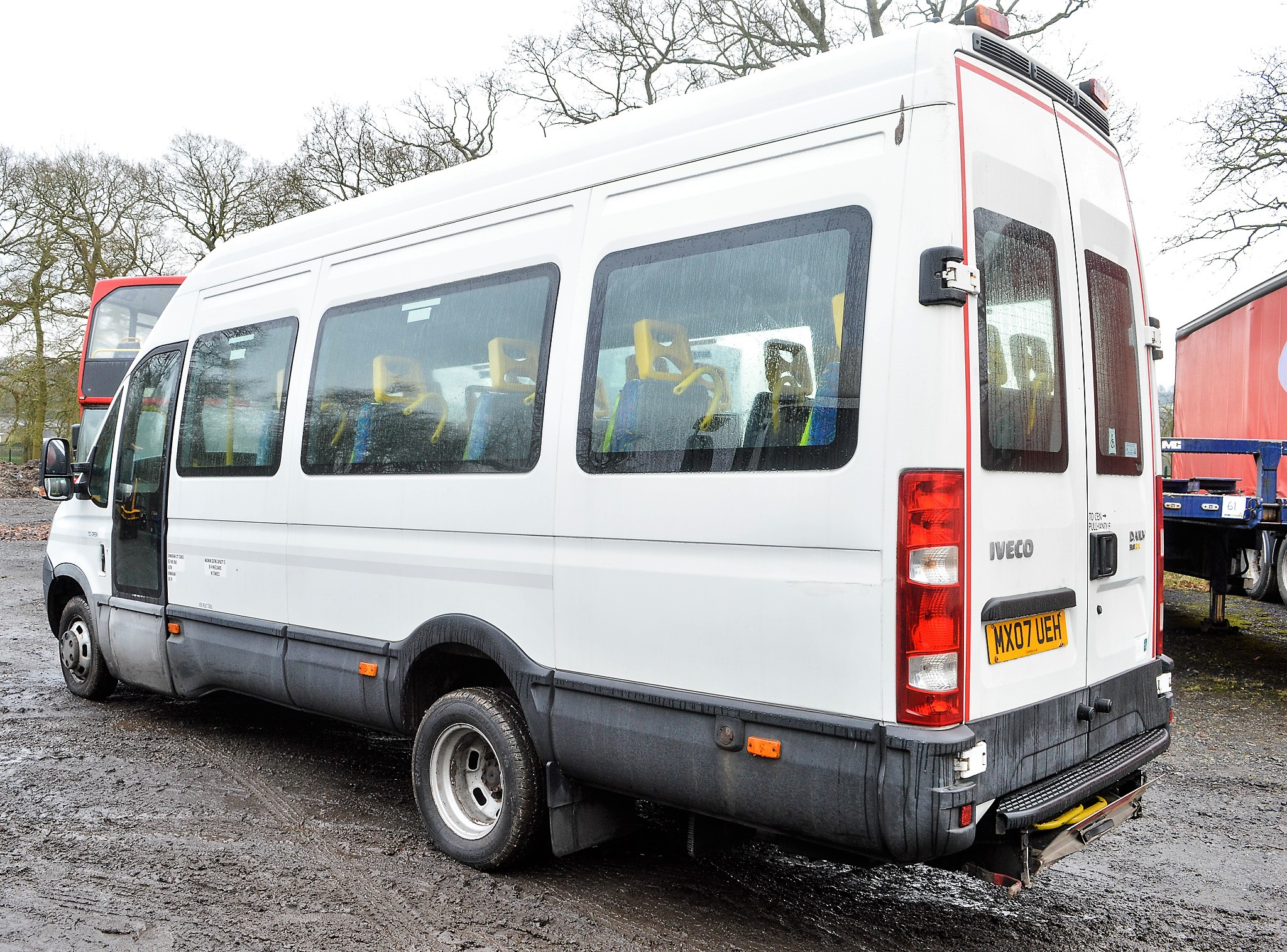 Lot 38 - Iveco Daily 3.0 HPi 50C15 13 seat minibus Registration Number: MX07 UEH Date of Registration: 04/
