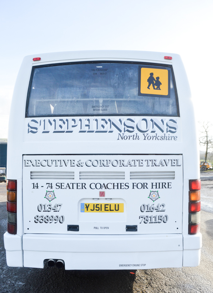 Lot 6 - DAF Ikarus 55 seat luxury coach Registration Number: YJ51 ELU Date of Registration: 03/09/2001 MOT