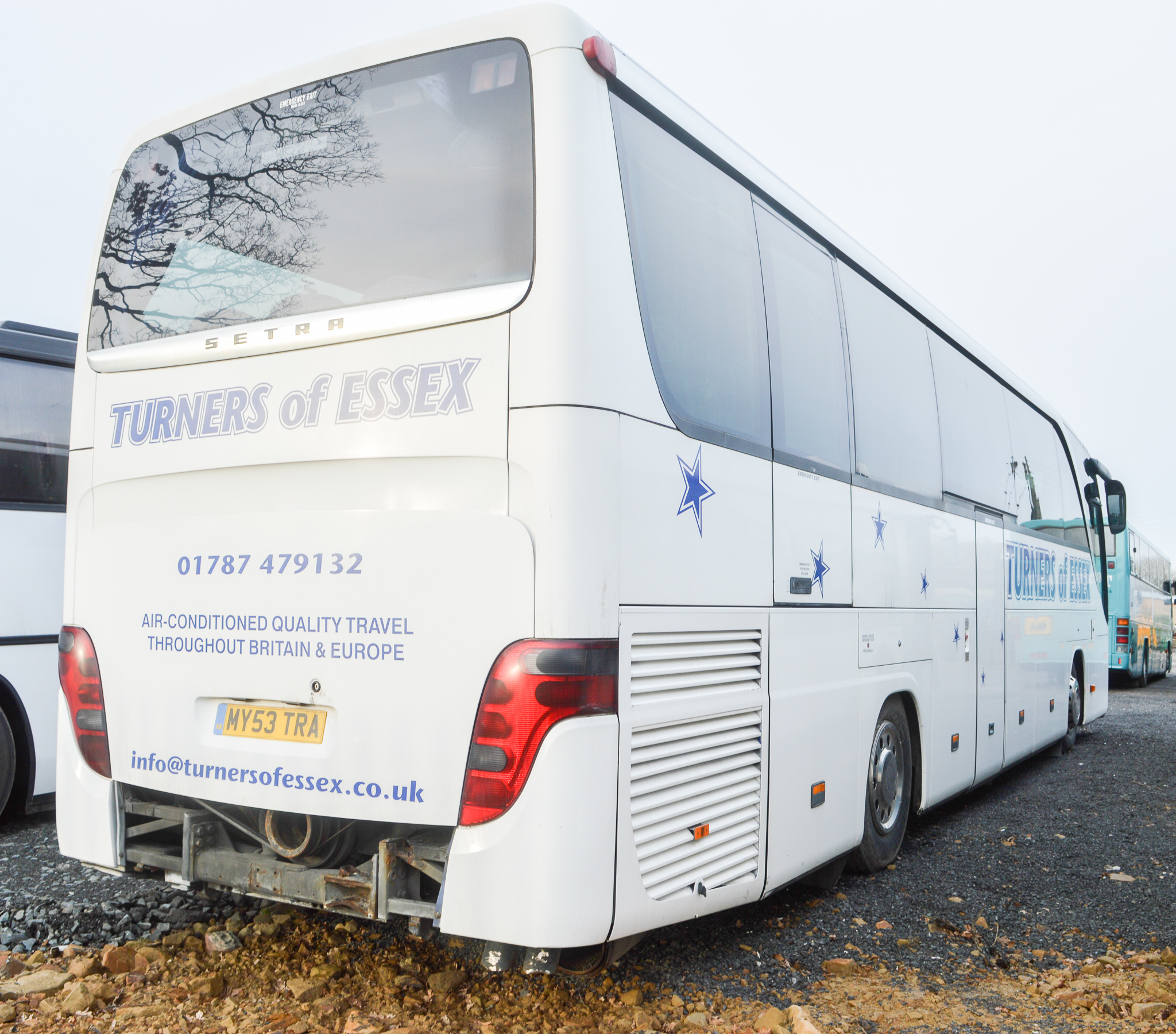 Lot 49 - Mercedes Benz Setra Evobus 49 seat luxury coach Registration Number: MY53 TRA Date of