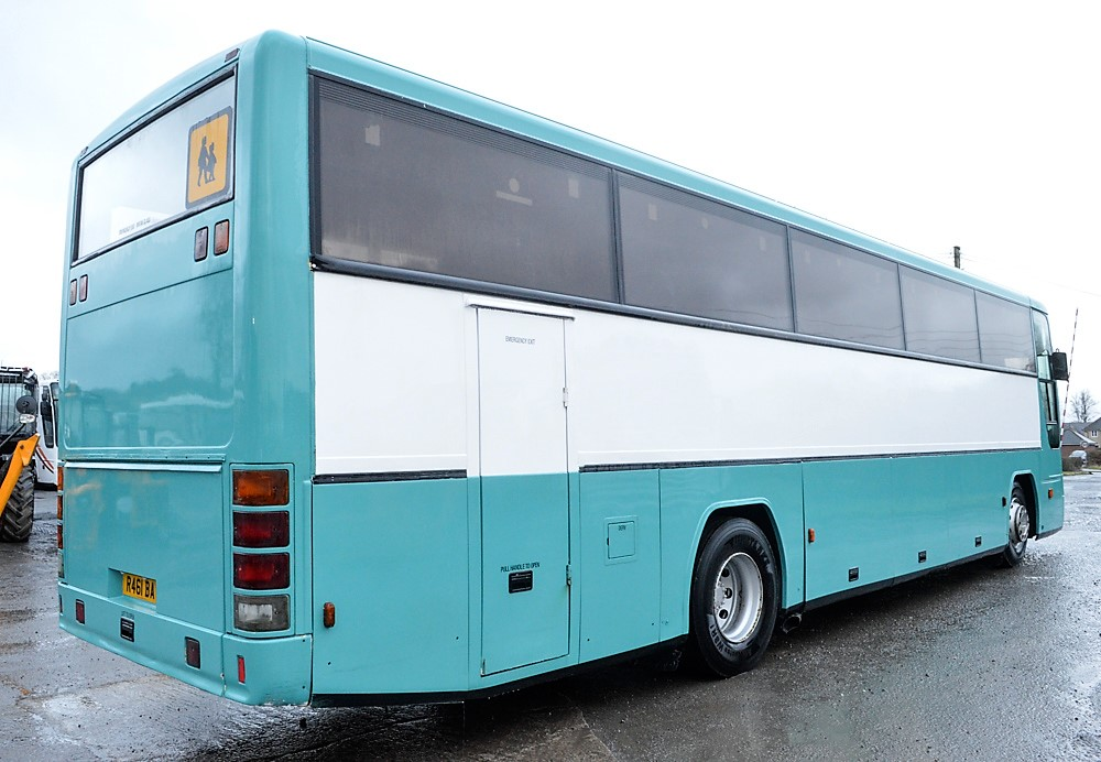 Lot 13 - Volvo Plaxton 70 seat luxury coach Registration Number: R461 BAY Date of Registration in England: