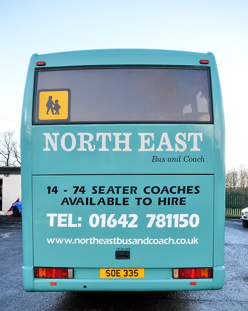 Lot 12 - Volvo Jonckheere 51 seat luxury coach Registration Number: SOE 335 Date of Registration: 21/01/