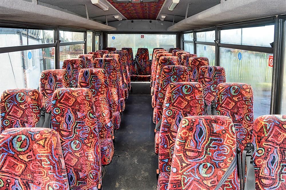 Lot 35 - Mercedes Benz Vario 33 seat minibus Registration Number: VU06 KFE Date of Registration: 01/03/2006