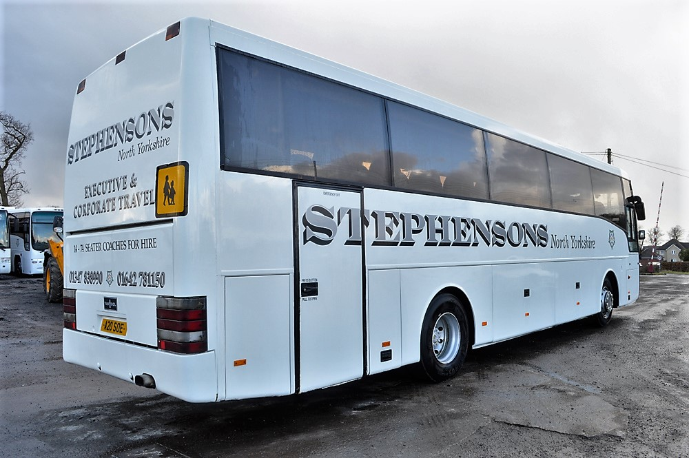 Lot 5 - DAF Vanhool 50 seat luxury coach Registration Number: A20 SOE Date of Registration: 10/04/2002 MOT