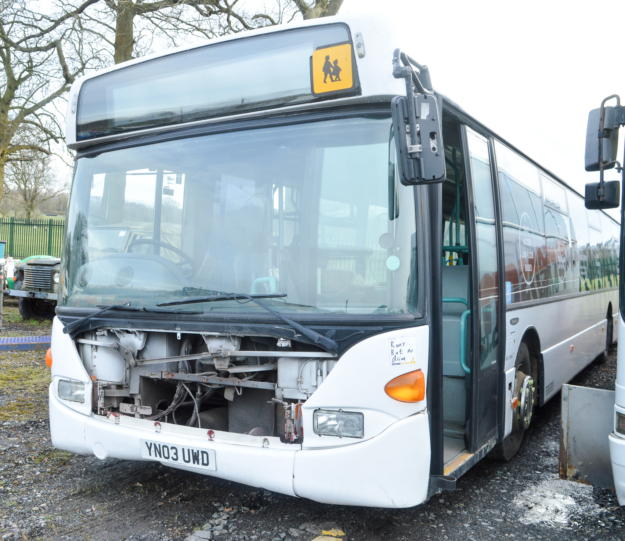 Lot 52 - Scania 42 seat single deck service bus Registration Number: YN03 UWD Date of Registration: 10/04/