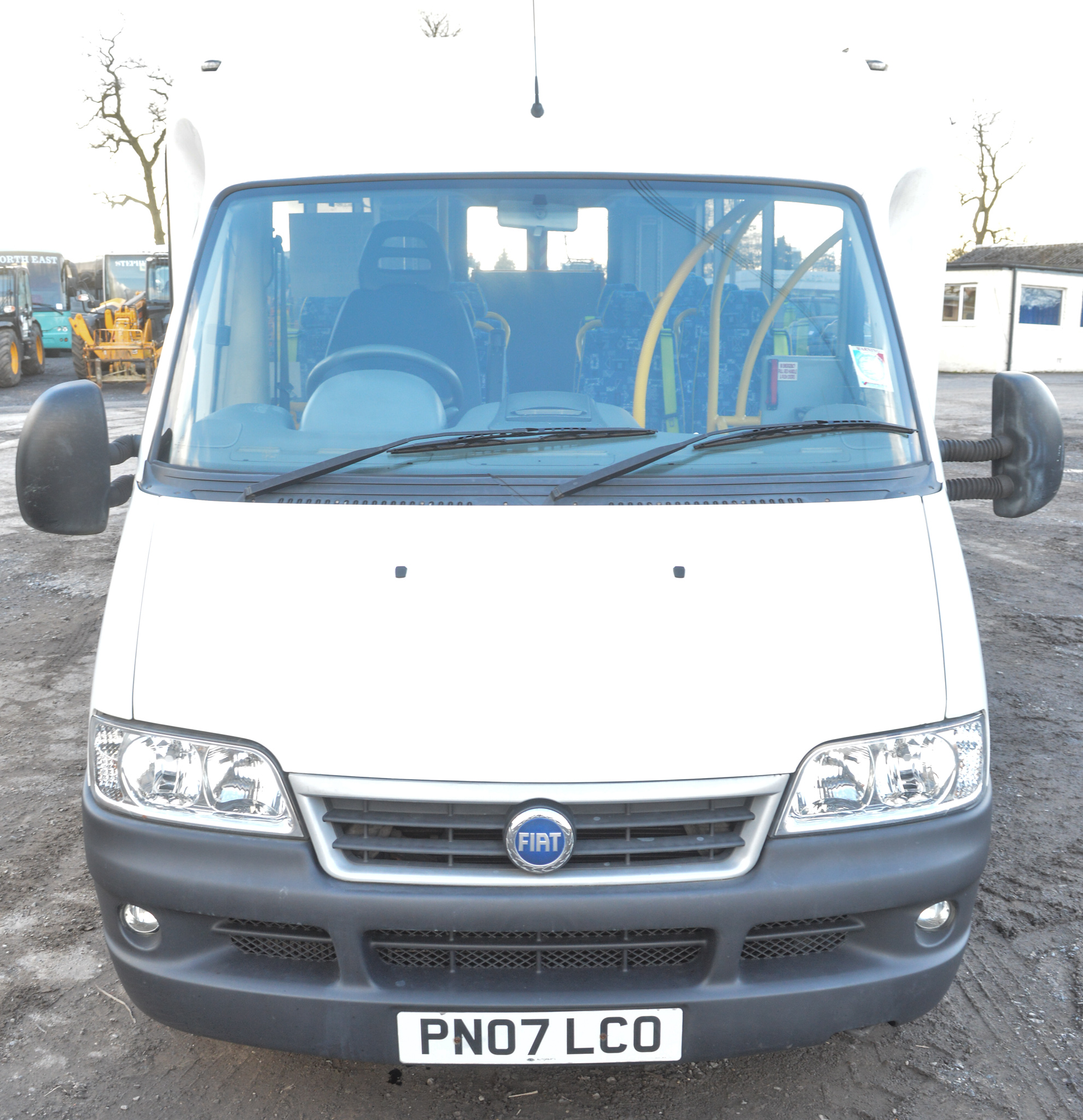 Lot 57 - Fiat Ducato 14 seat minibus  Registration Number: PN07 LCO Date of Registration: 01/07 MOT: Expired