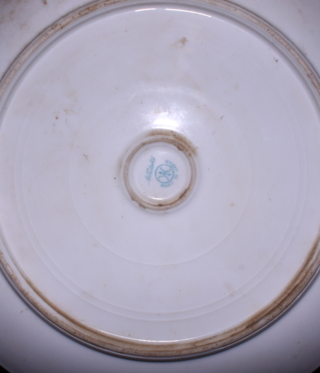 Lot 44 - A Royal Crown Derby porcelain side plate, pattern 2712, together with two pieces of Noritake