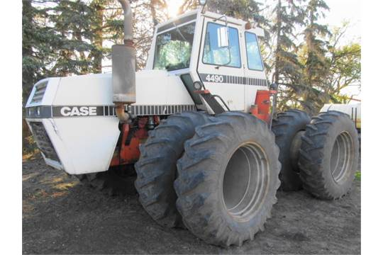 Case 4490 Tractor : Case wd tractor hours powershift pto