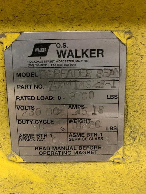 Lot 103 - 2017 WALKER MAGNETIC SHEET LIFTER (FORT WORTH, TX)