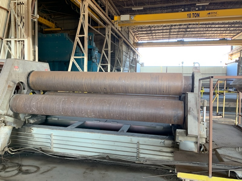 "Lot 101 - (11' x 1"") 3 - ROLL PLATE ROLL (FORT WORTH, TX)"
