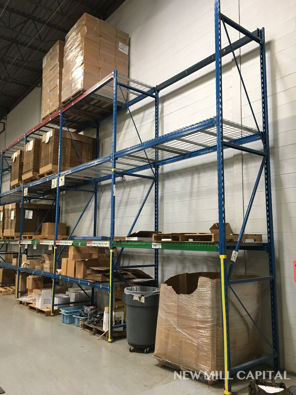 Lot 10 - Ridg-U-Rak Slotted Pallet Rack, (18) Uprights (3in x 1-5/8 in Columns, | Rig: See Lot Description