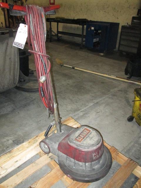 Lot 2100 Clarke Floor Maintainer M N 1700 Asset Location