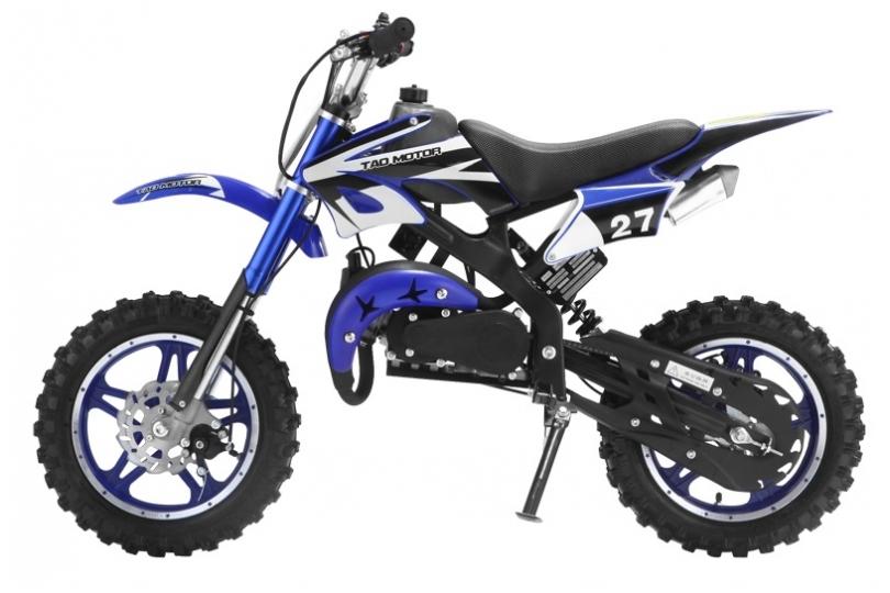 Lot 18010 - V Brand New 50cc Scrambler Blaster Mini Bike - Colour May Vary - Two Stroke - Single Cylinder