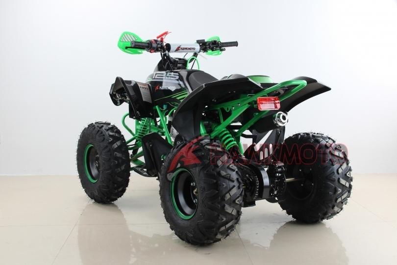 "Lot 20016 - V Brand New 125cc Mega Raptor Off Road Sports Quad Bike With ""Fat Boi"" Off Road Wheels - Electric"