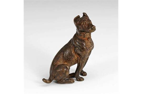 Wiener Bronze Hund Bronze Antike Originale Vor 1945